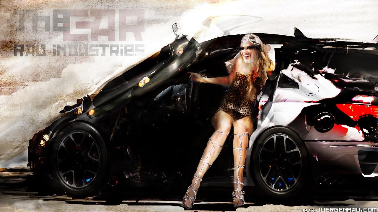 The Car Automotive Design Concept