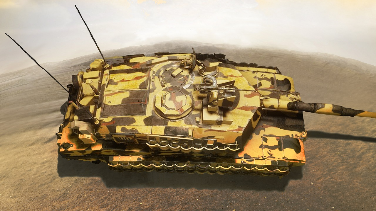 ARMORED WARFARE tank 02. Artwork done strictly folowing the task rules.