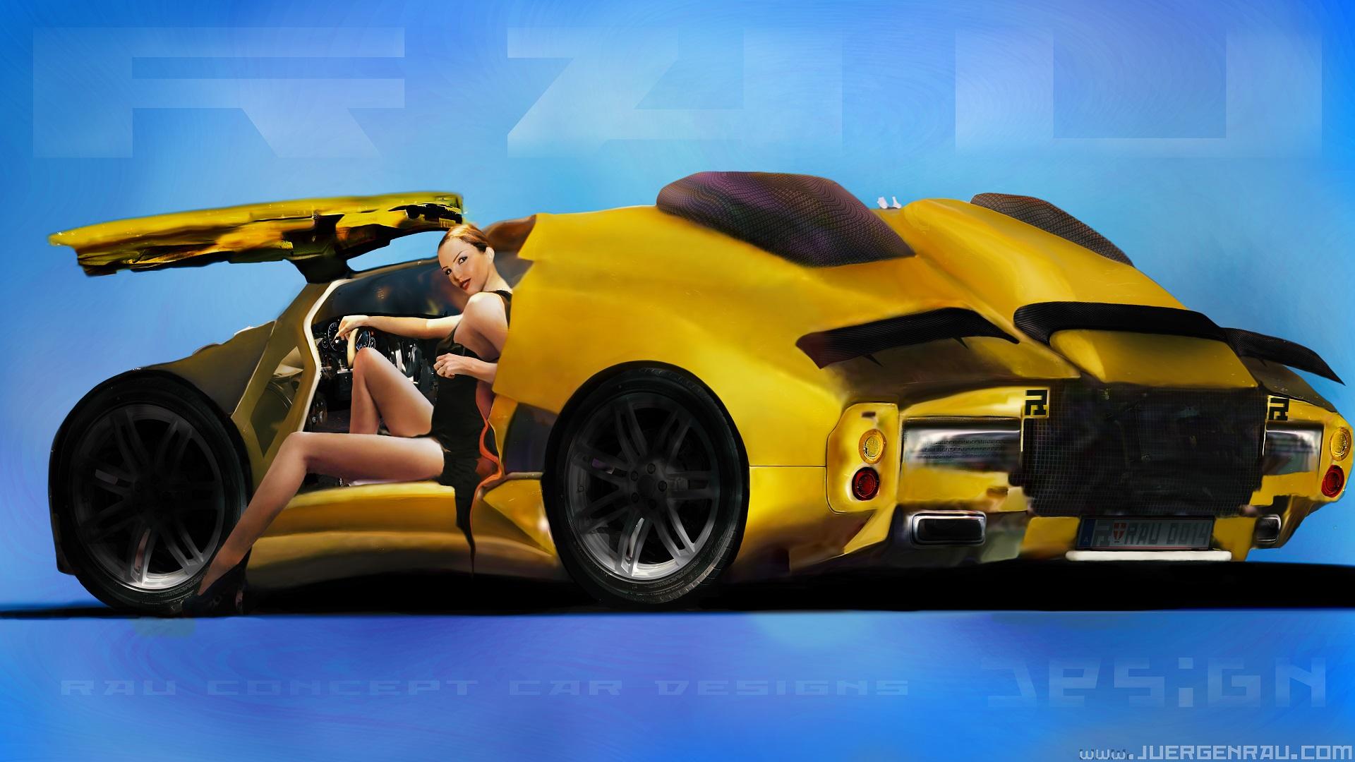 Concept artist designer freelancer juergen rau concept art for Car exterior design